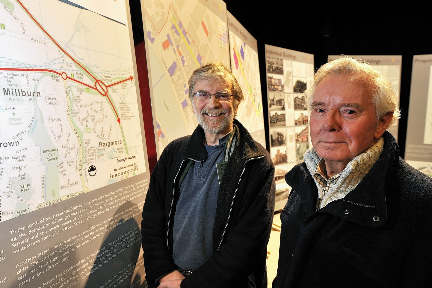 Inverness Academy Street plans