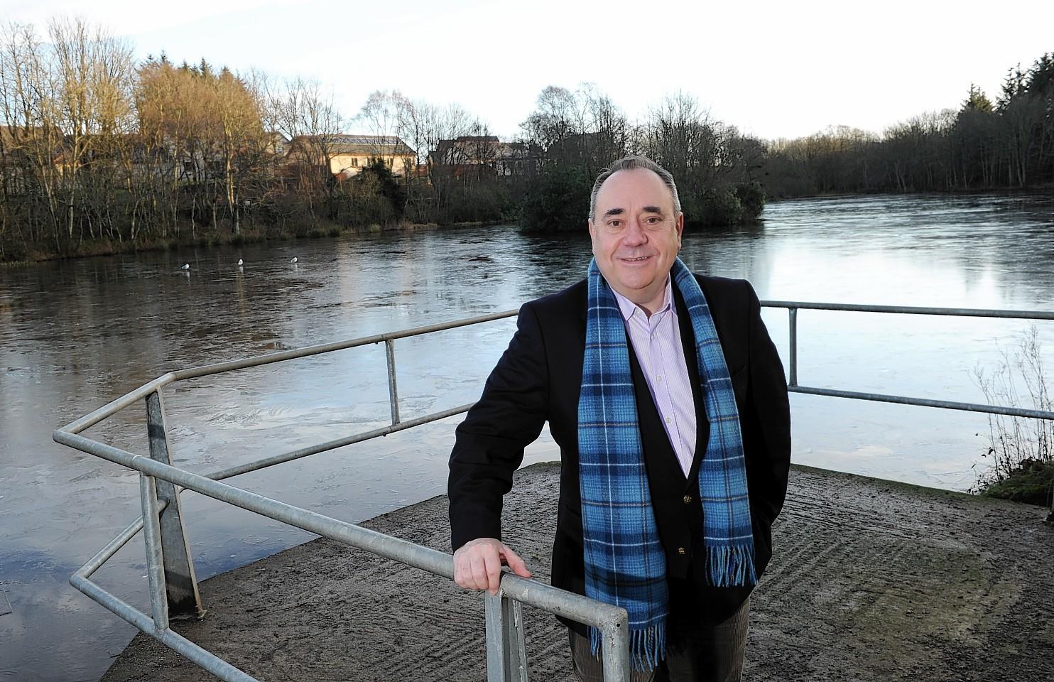 Alex Salmond at Strichen Park
