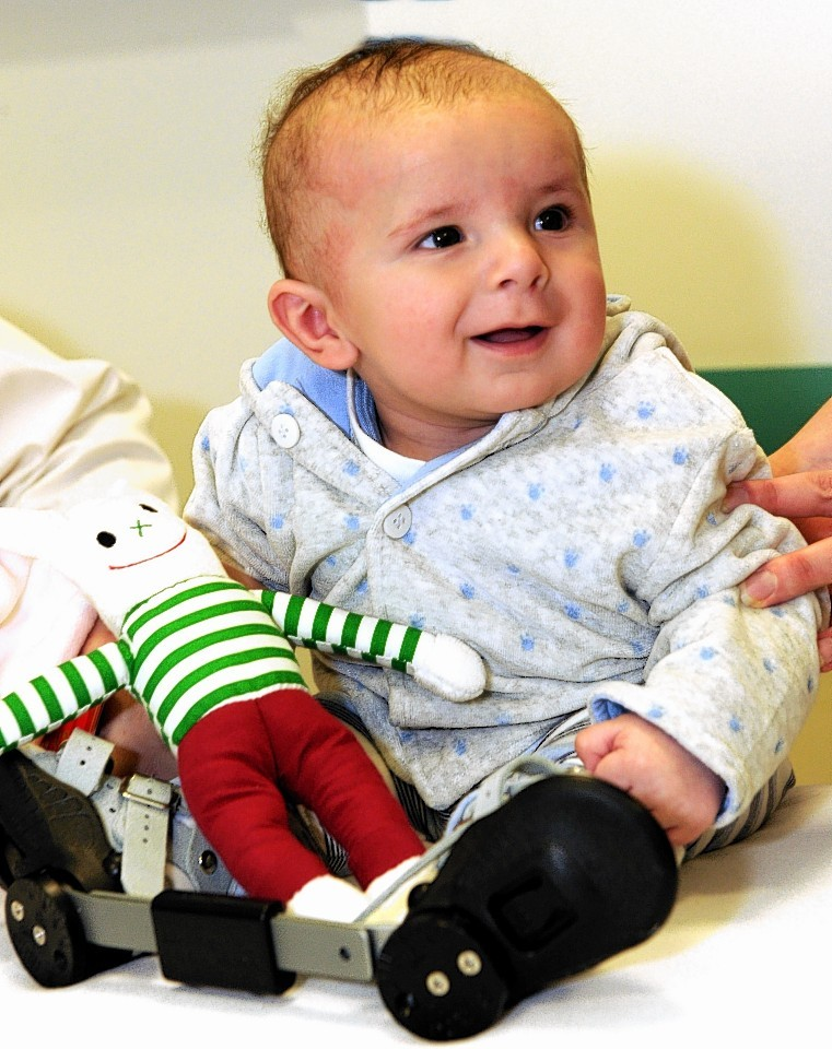 Little Archie will benefit from the donation
