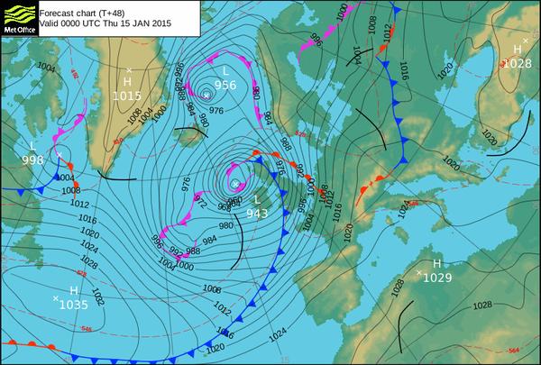 Snow forecast for north of Scotland