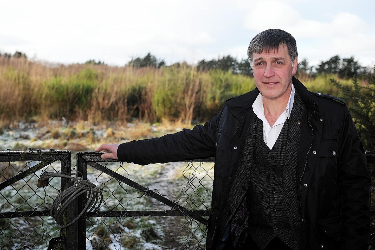 Bob Milton at development site