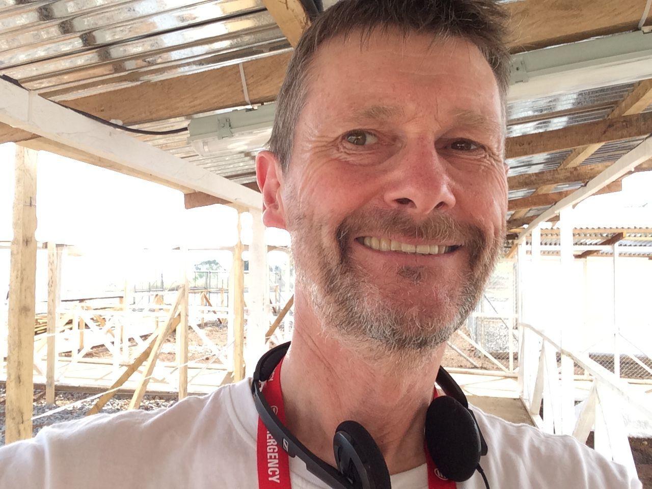 Dr Chris Mair in Sierra Leone