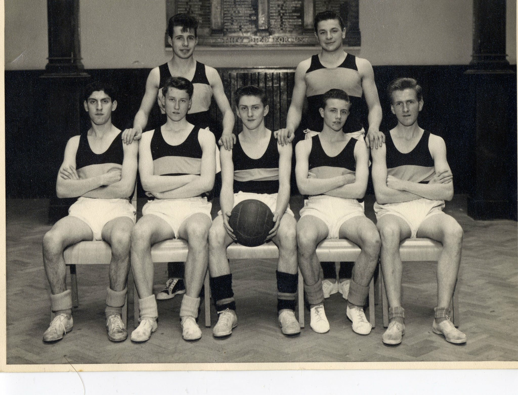 Dante in his basketball playing days