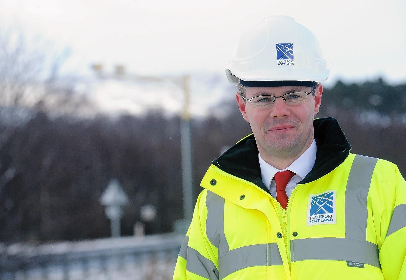 Transport Minister Derek Mackay