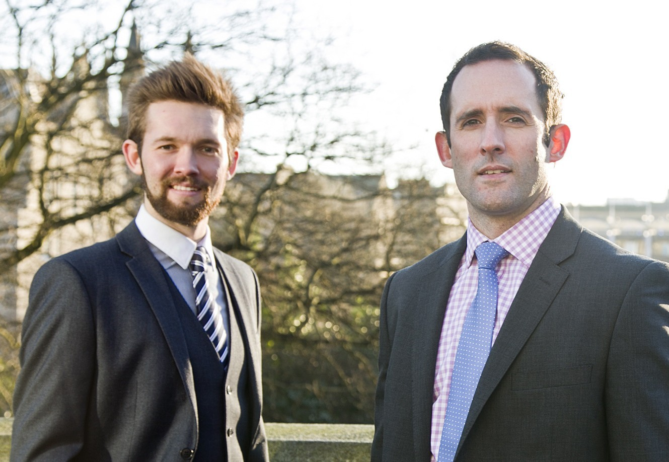 Craig Buchan and Shaun Windram of recruitment specialist Right People