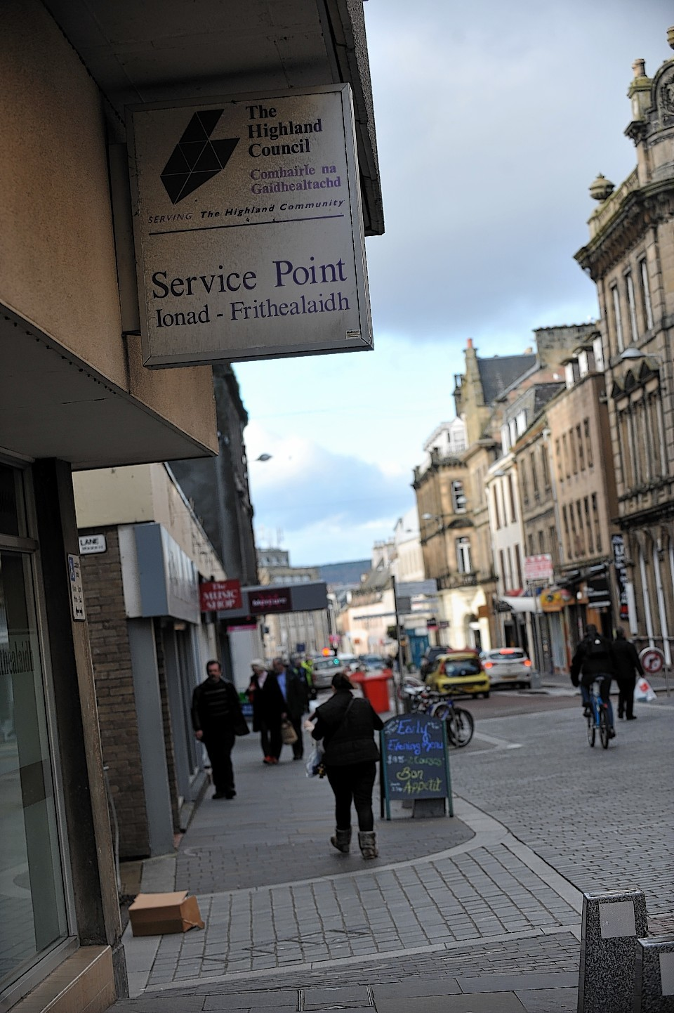 Inverness Service Point will be one of 13 main contact centres for Highland Council services