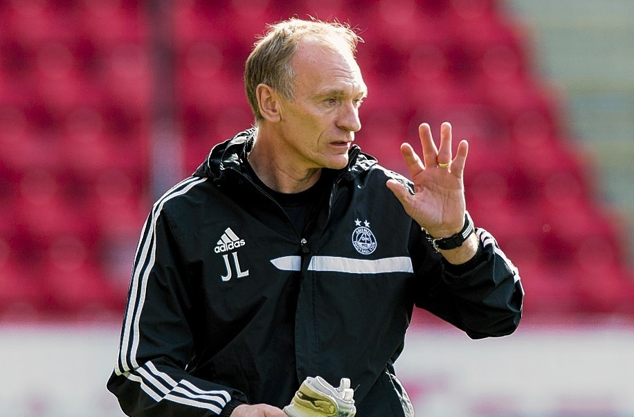 Jim Leighton went on to serve as Dons goalkeeping coach.