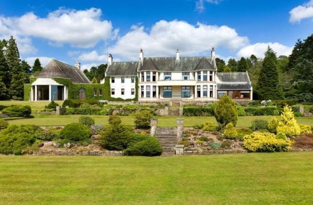 Leewood House is described at Scotland's finest 20th century homes