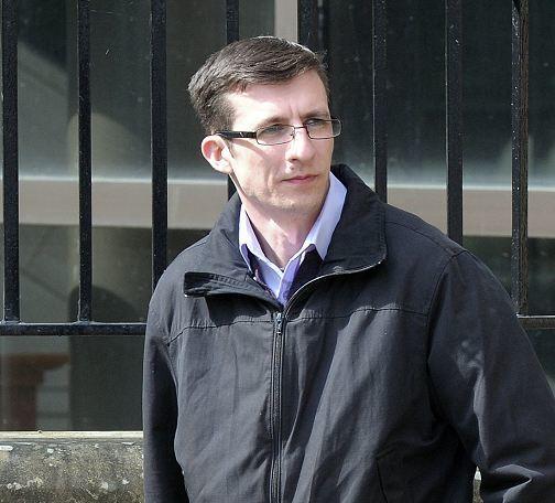 Mark MacLennan outside court