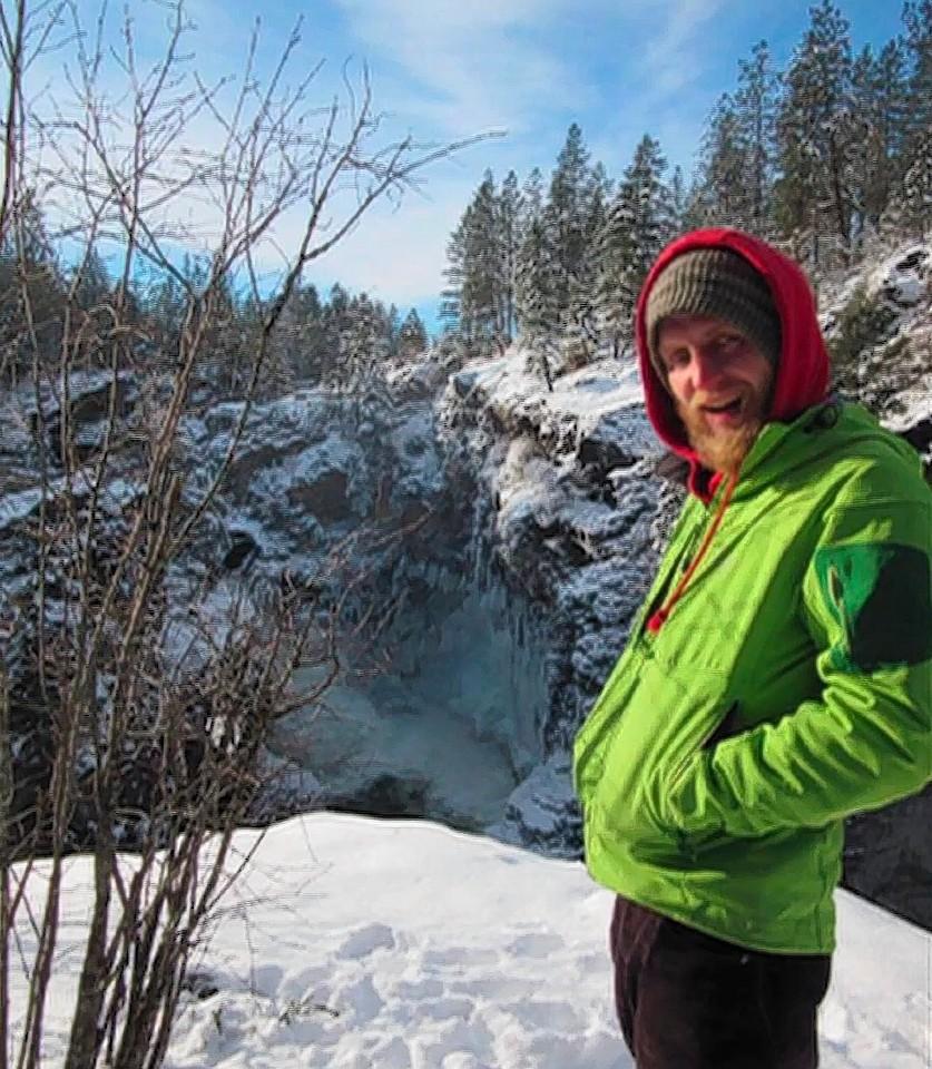 Climber Neil Mackenzie