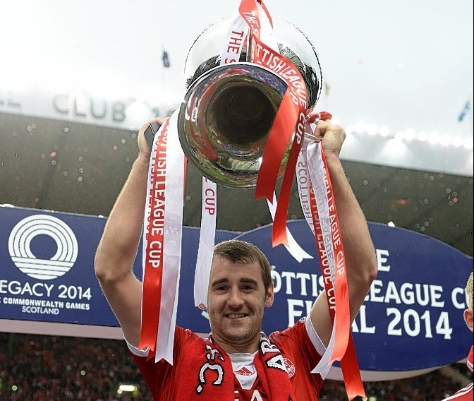 McGinn says winning the League Cup last season was the best moment of his career to date
