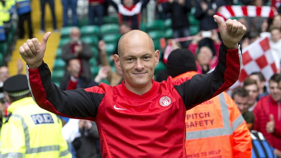 Hamilton manager Alex Neil looks like he is on his way to Norwich