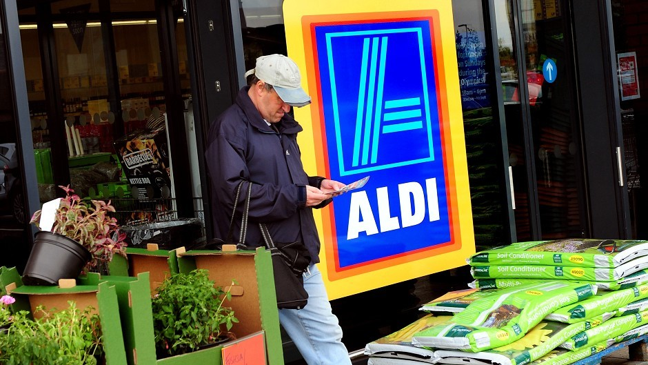 Aldi will open eight new stores in Scotland next year.