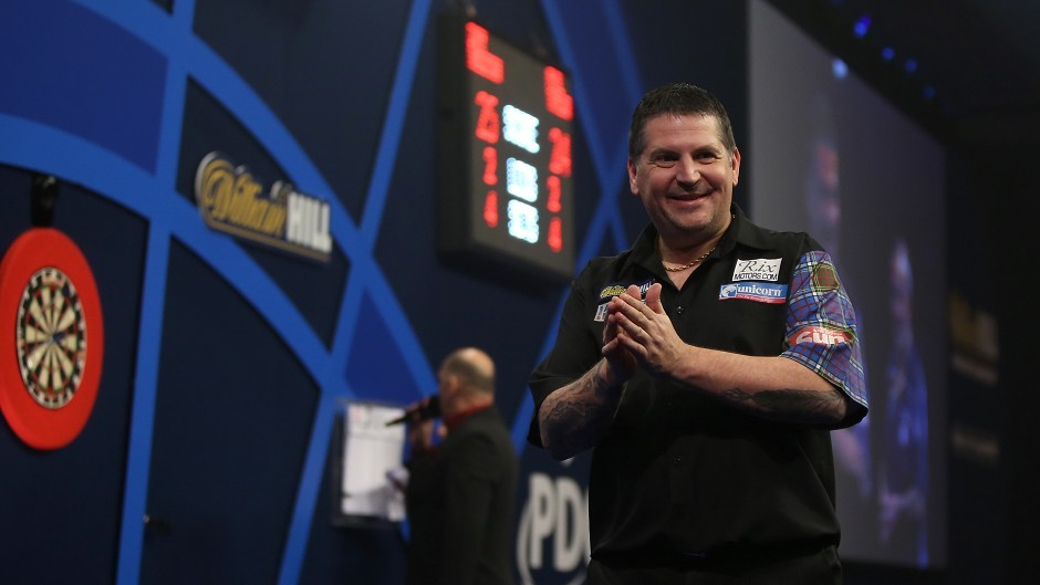 Gary Anderson captured his first world title