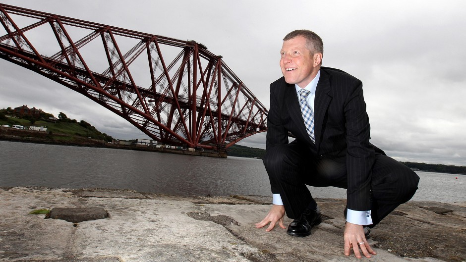 Willie Rennie will emphasise the Lib Dem's record in office when he launches the Scottish manifesto in South Queensferry.