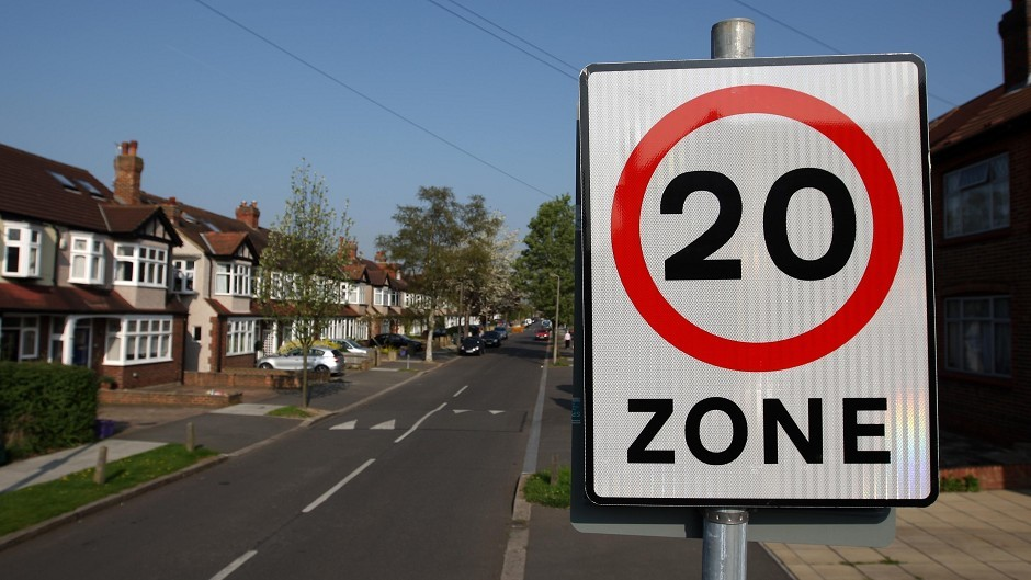 The bid for a 20mph limit was thrown out