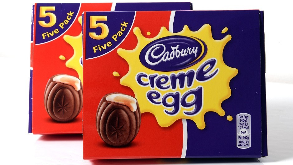 Cadbury's Creme Eggs are now being sold in boxes of five, rather than six