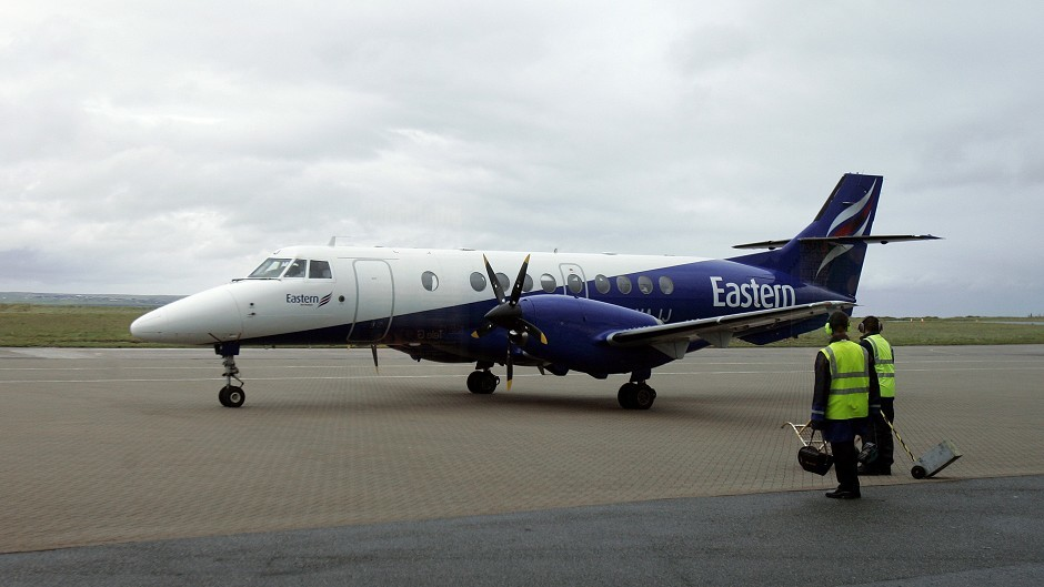 The plane involved was an Eastern Airways aircraft