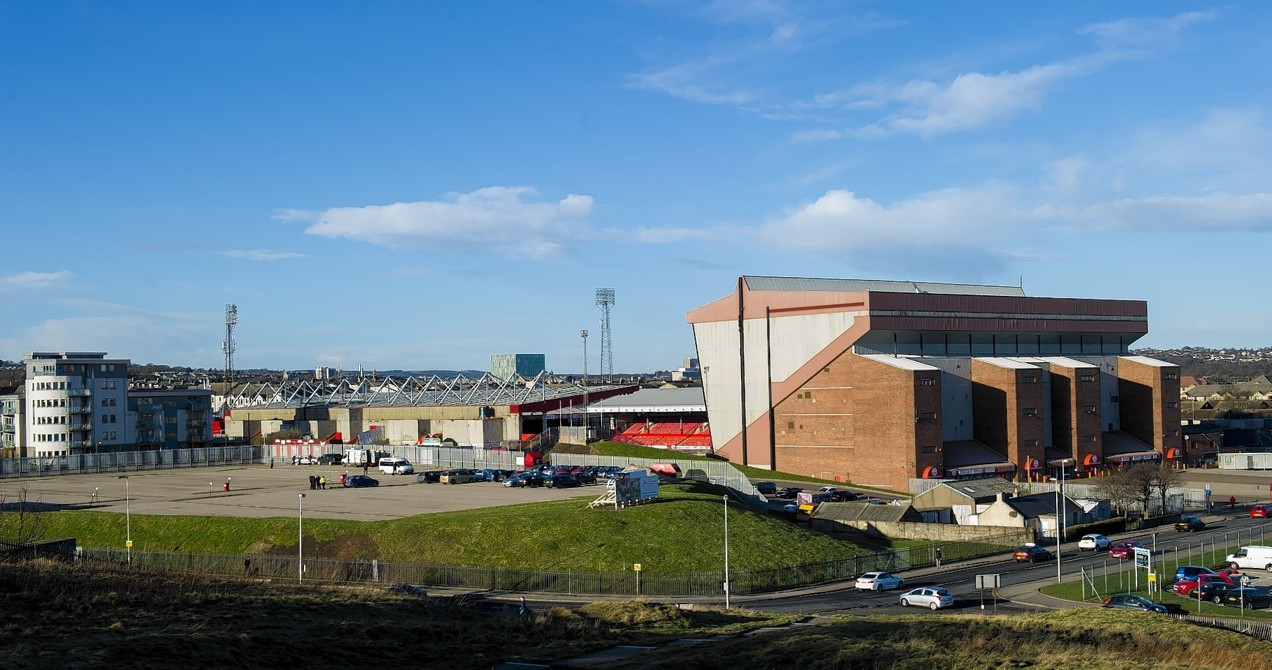 The incident occurred at Pittodrie in March