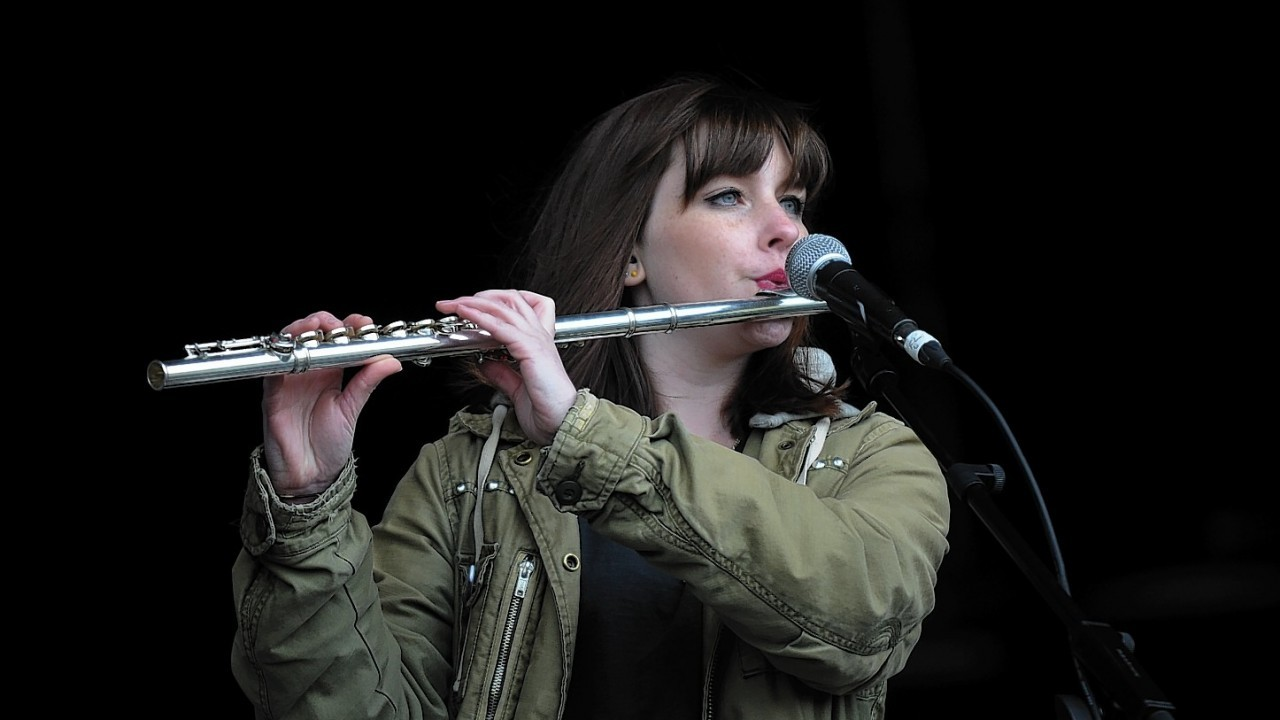 Mumford and Sons, Ed Sheeran,  The View and Noah and the Whale entertained the crowd, including Kevin Bridges at the festival in 2012
