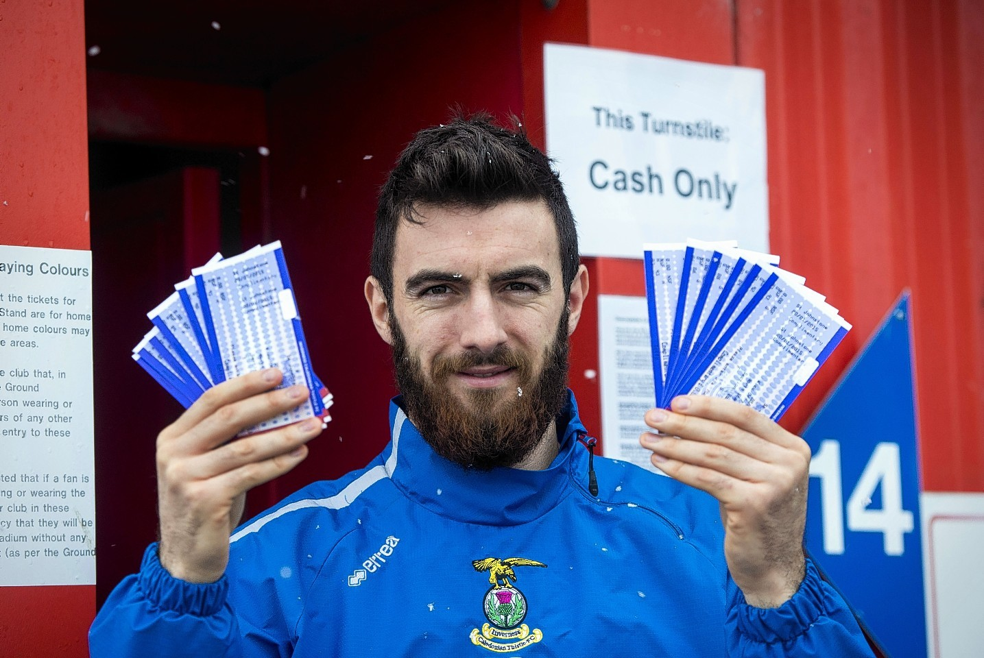 Ross Draper hoping to help boost Caley Thistle crowd numbers