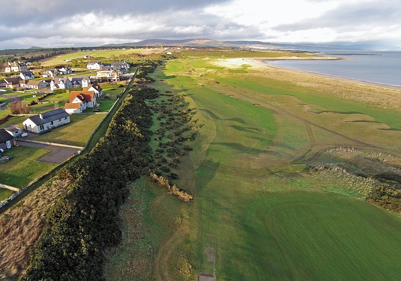 Royal Dornoch Golf Club has won permission for a new driving range