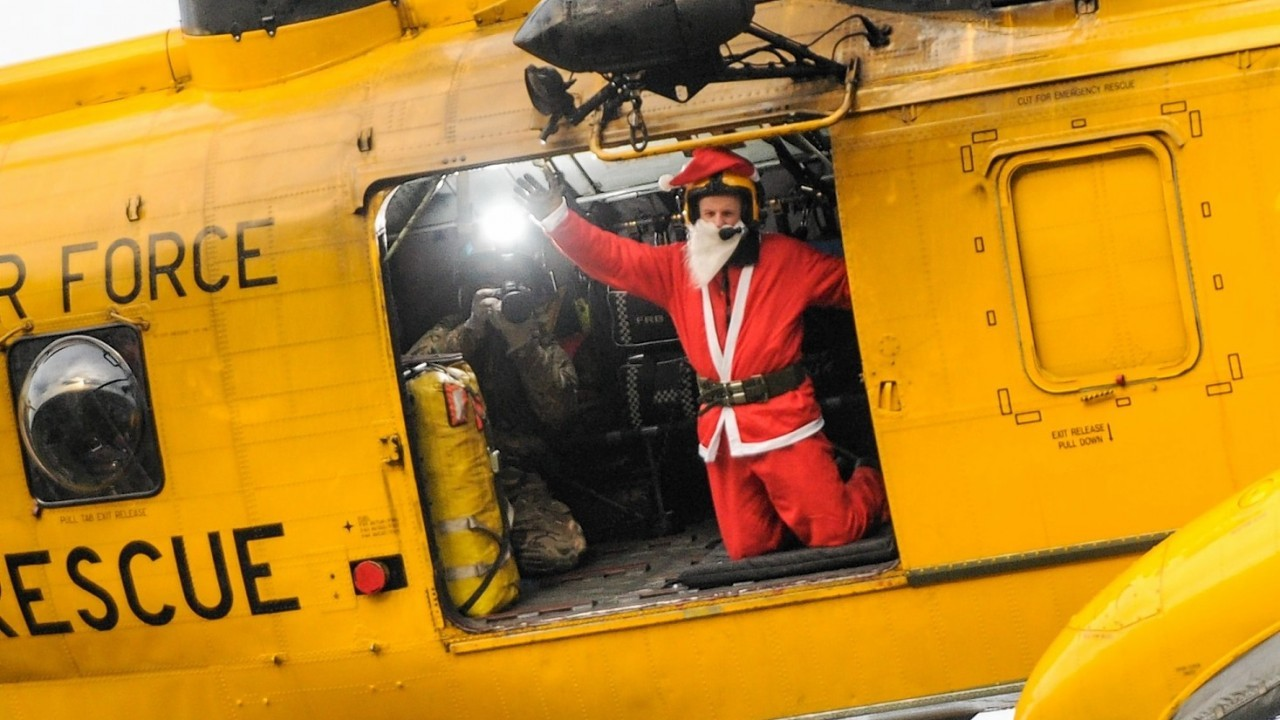 Even Santa Clause is a fan of the Sea Kings