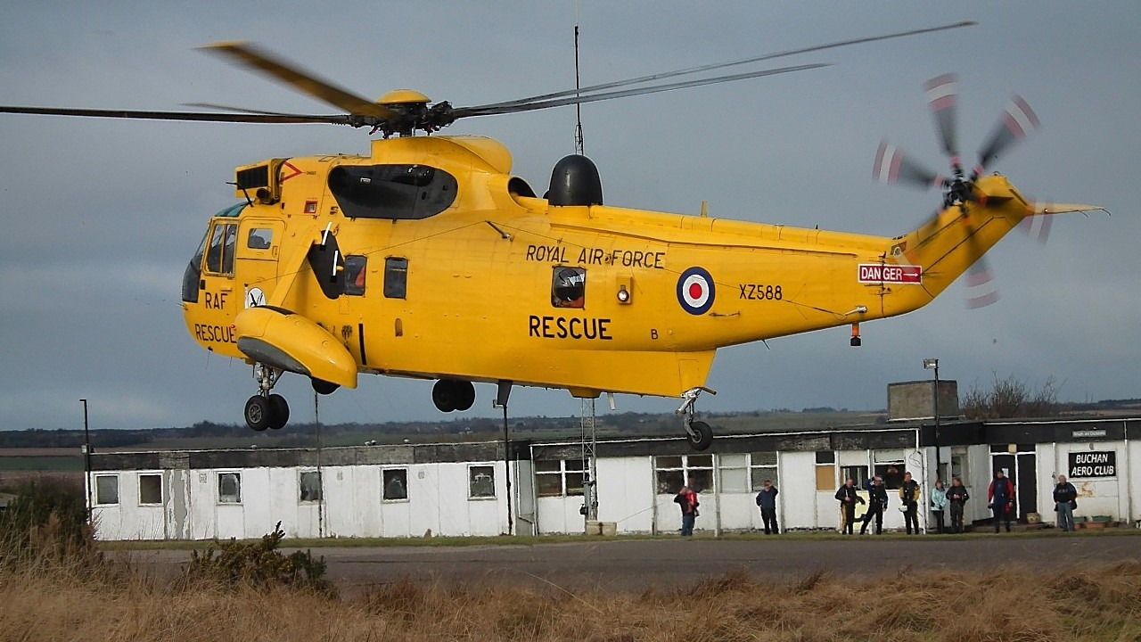 RAF Lossiemouth-based Sea Kings have been performing search and rescue missions all over the north and north-east since the 1970s
