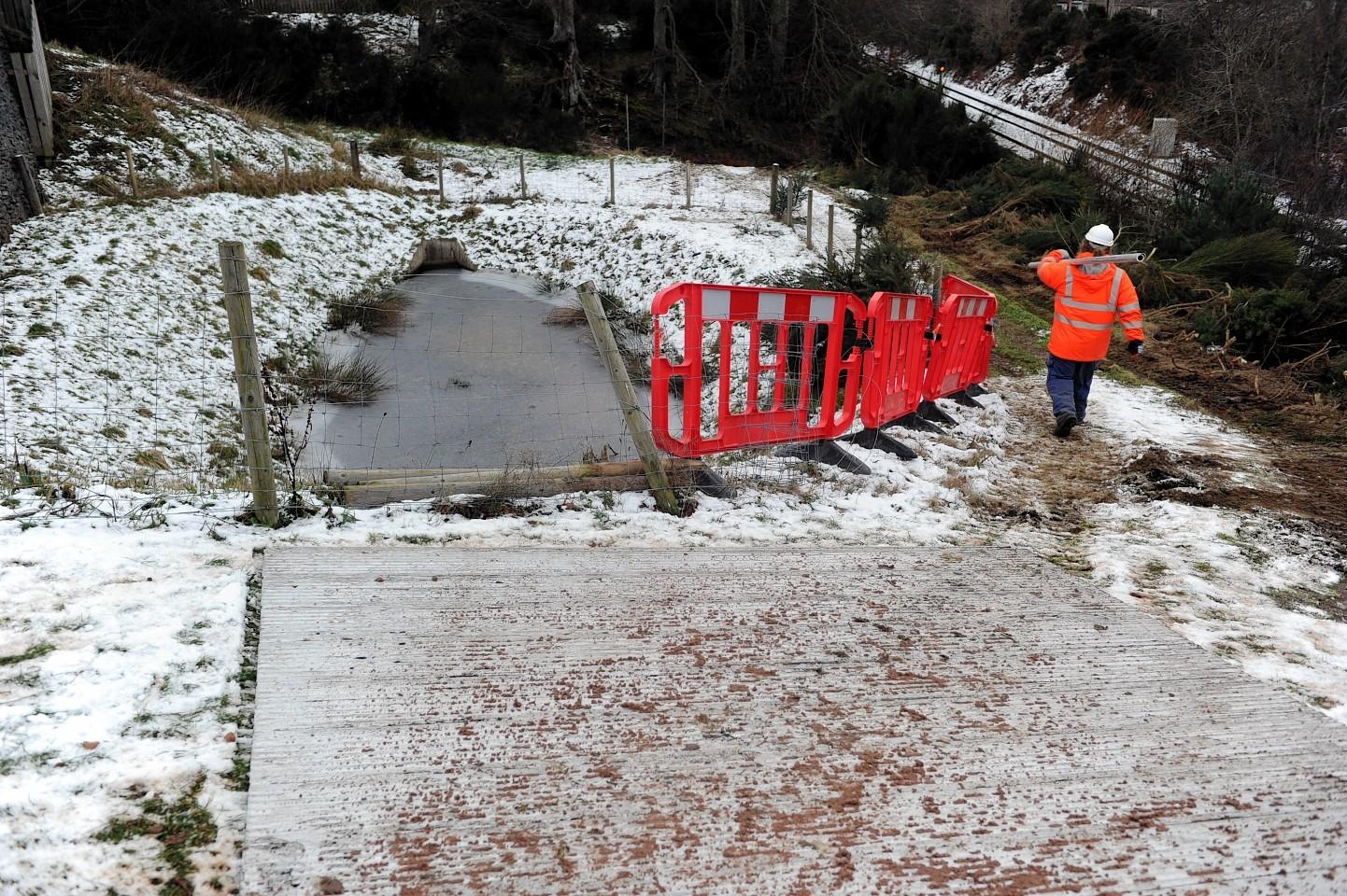 Work begins on the Smithton Burn