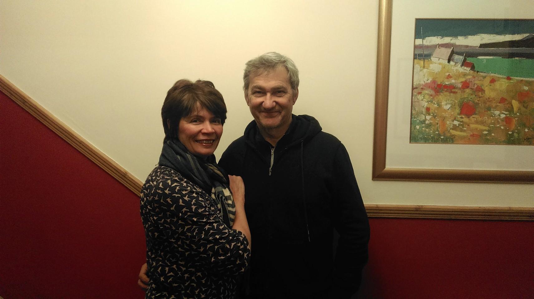 Penny and Steve Macdonald