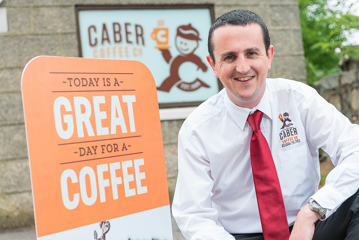 Caber Coffee managing director Findlay Leask