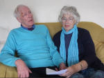 The 80-year-old found love online