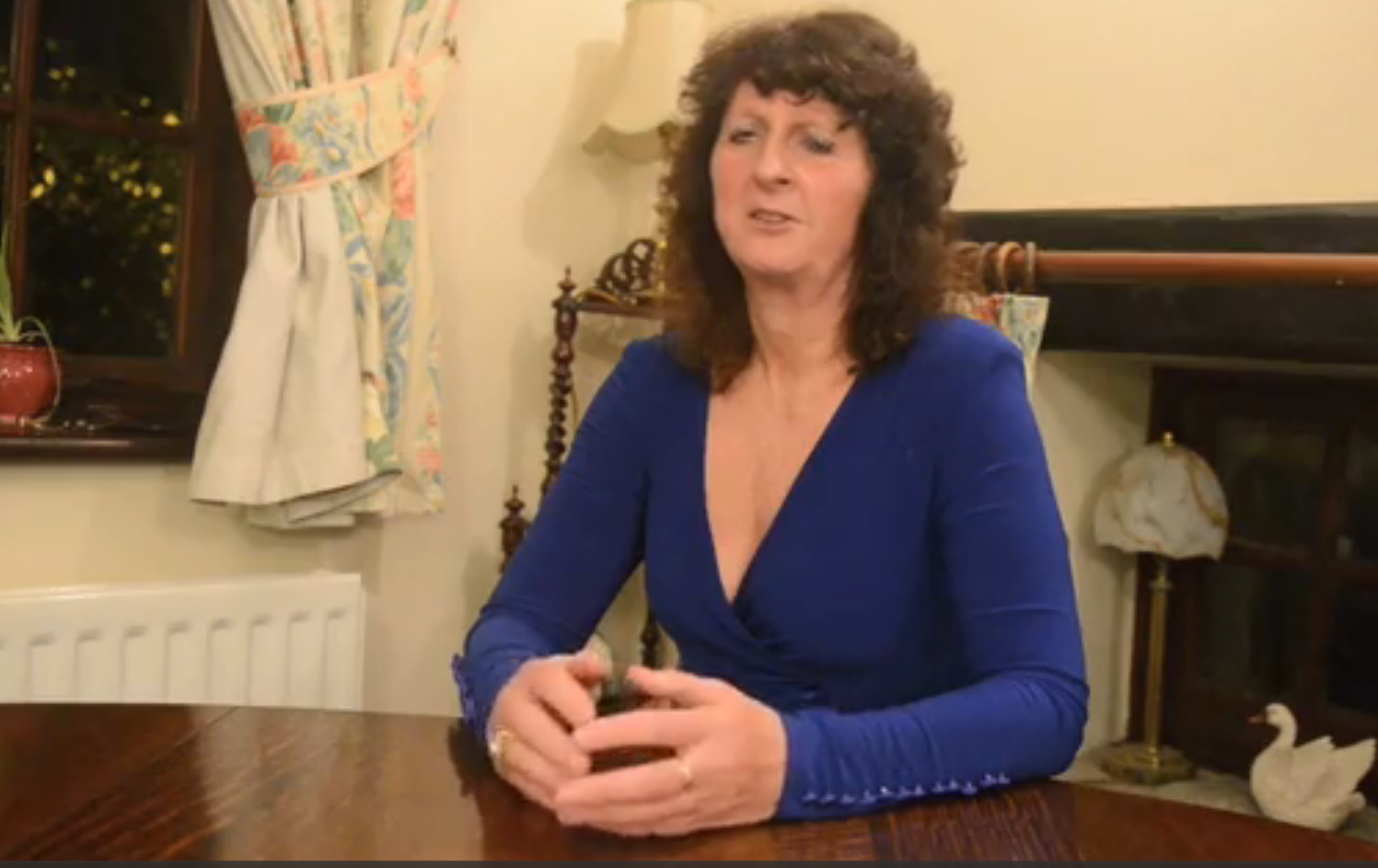 Ann Wheeler lost the use of her legs after she damaged nerves in her spine