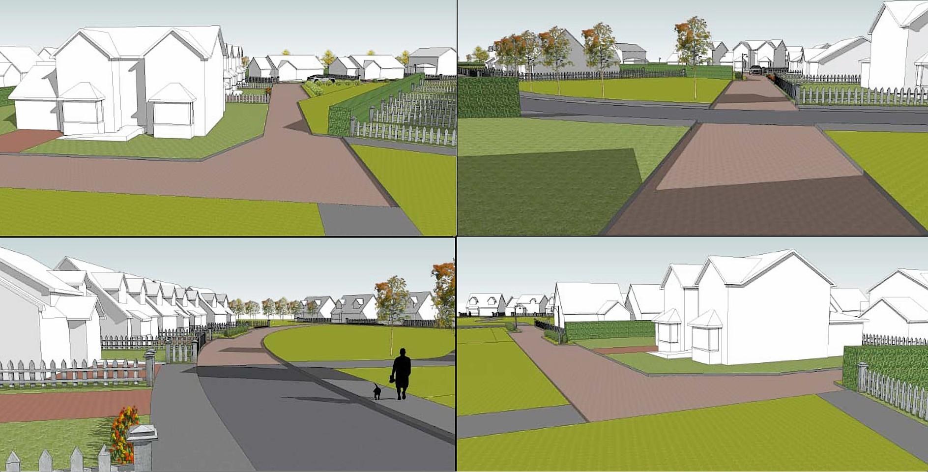 The planned Stuartfield development