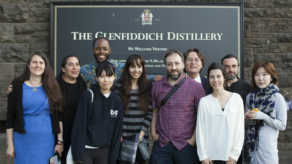 Whisky artists in residence 2014