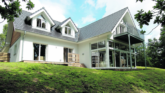 Birchwood Lodge has been managed as a holiday let since 2010