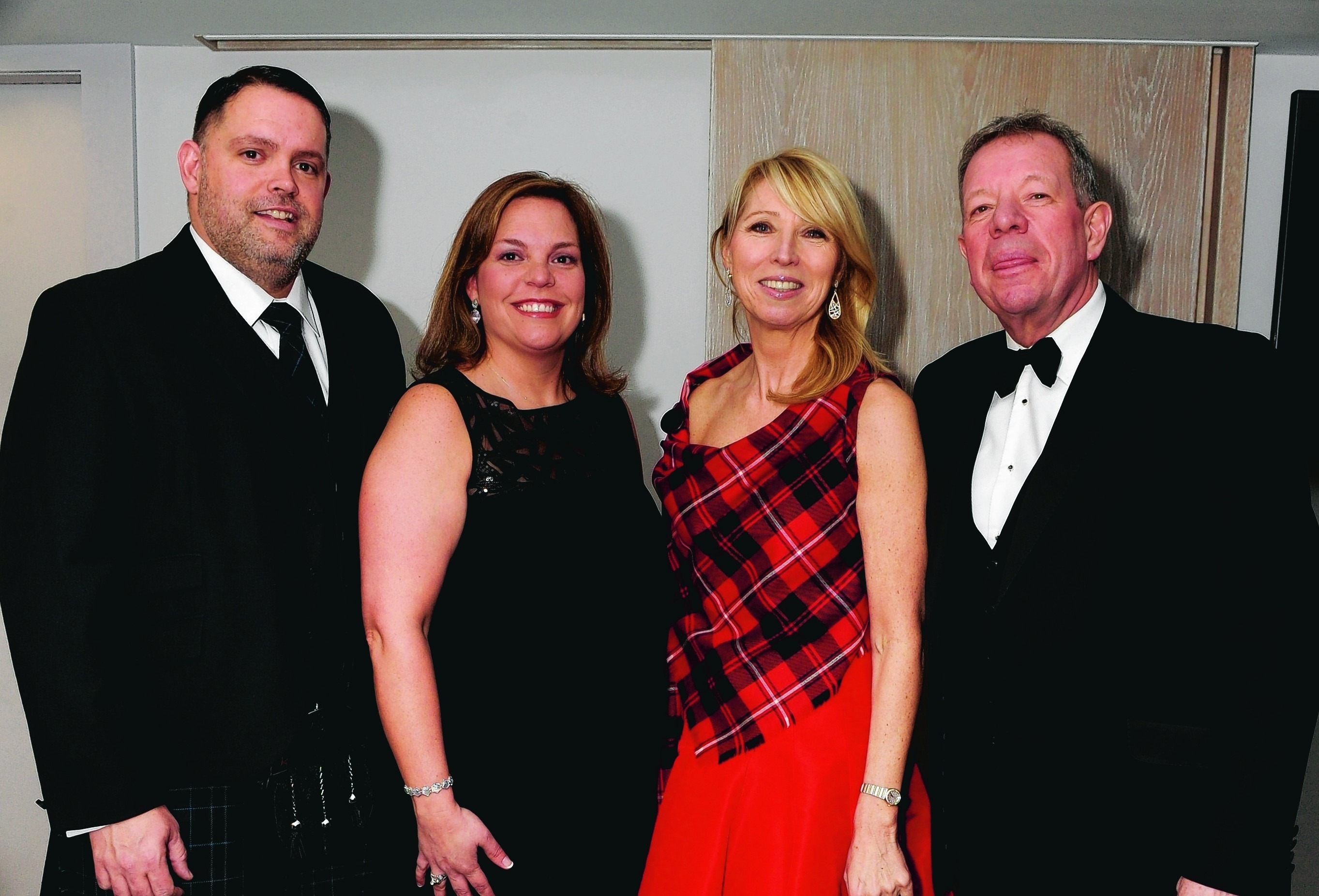 Terry and Misty Pierce, Karen and Mike Reilly.