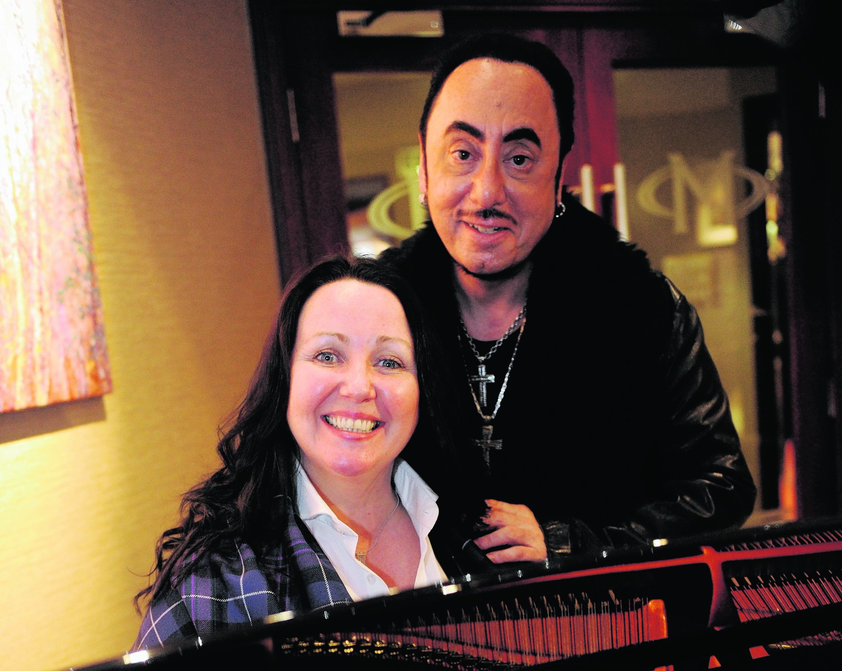 Tish Tindall and David Gest worked together on the new musical. Photo: David Whittaker-Smith