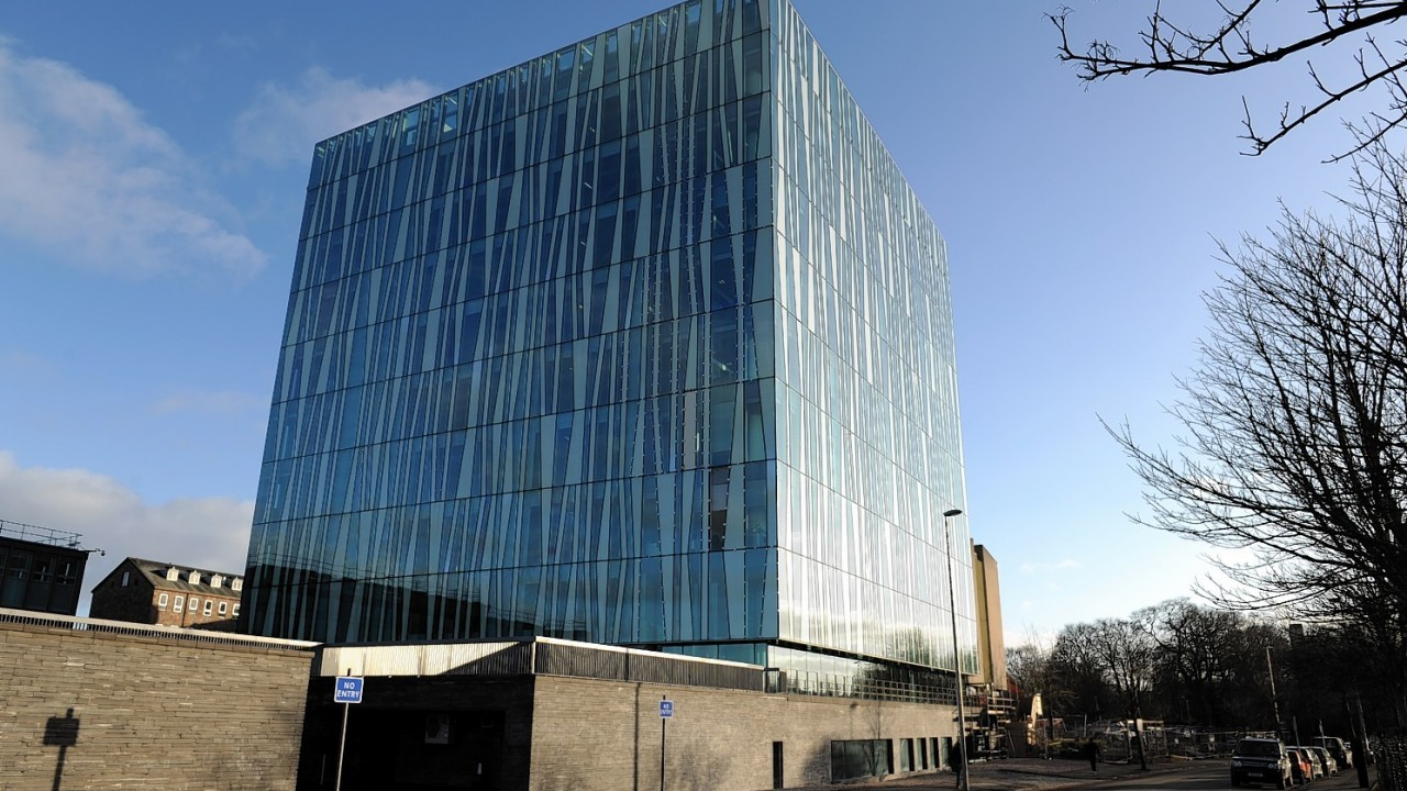 Aberdeen University's Sir Duncan Rice Library
