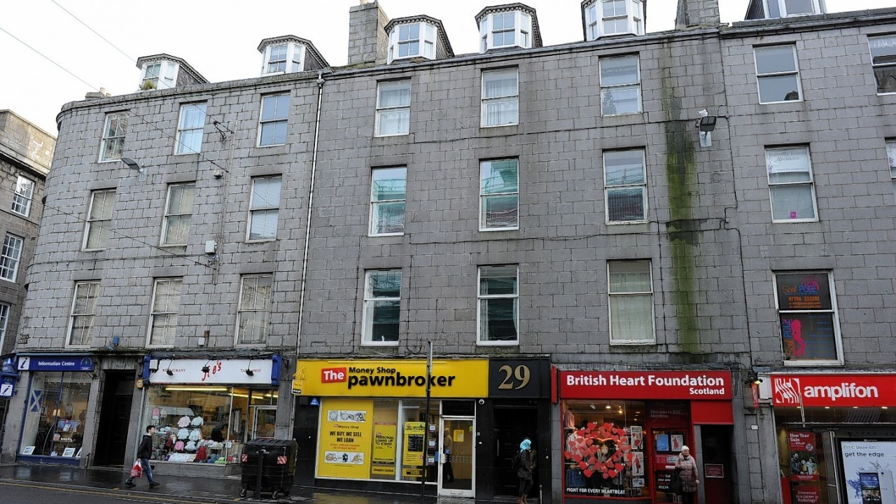 Aberdeen has been handed the unwanted crown of 'most dismal town'