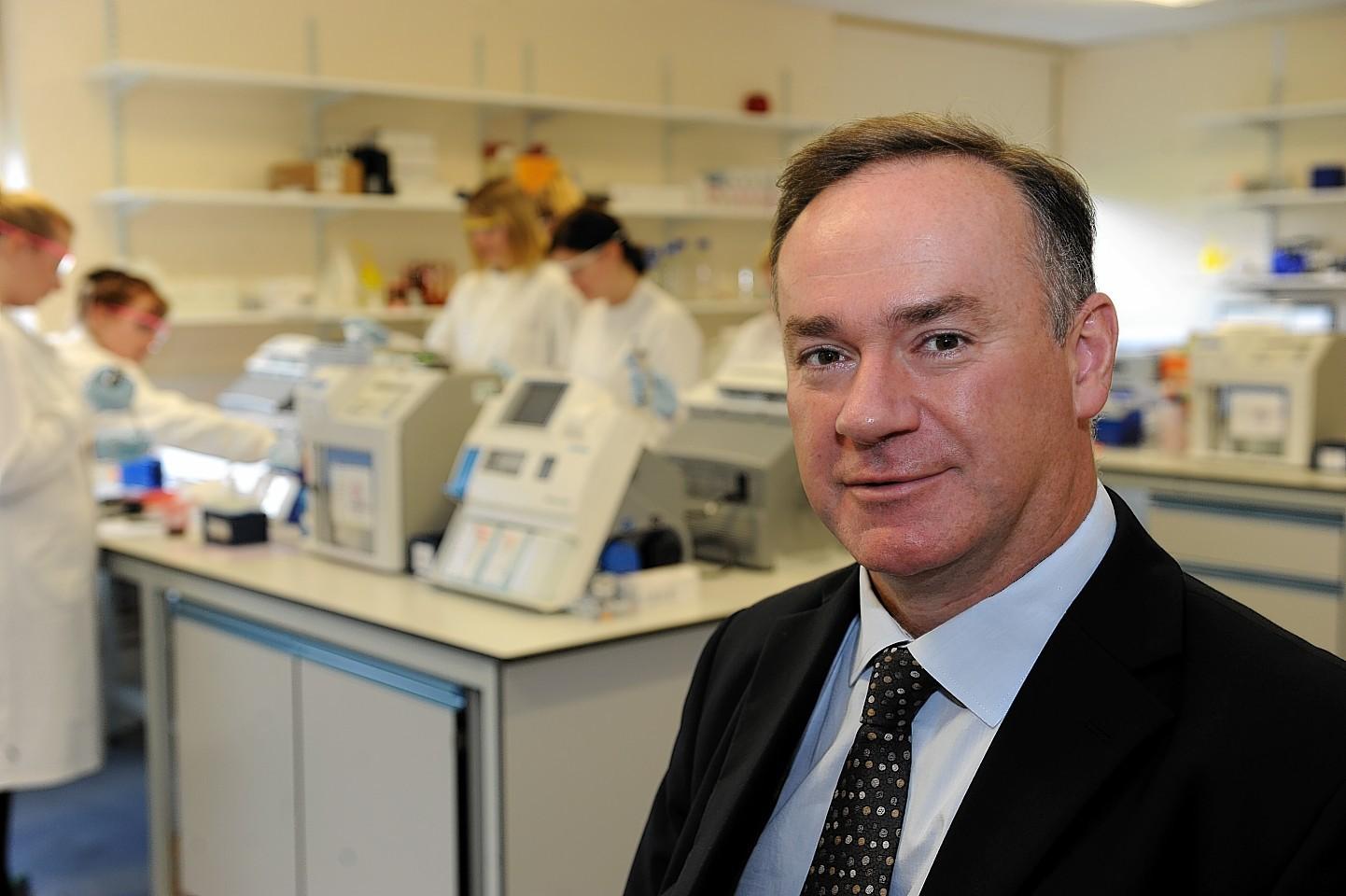 AccuNostics chief executive Giles Hamilton