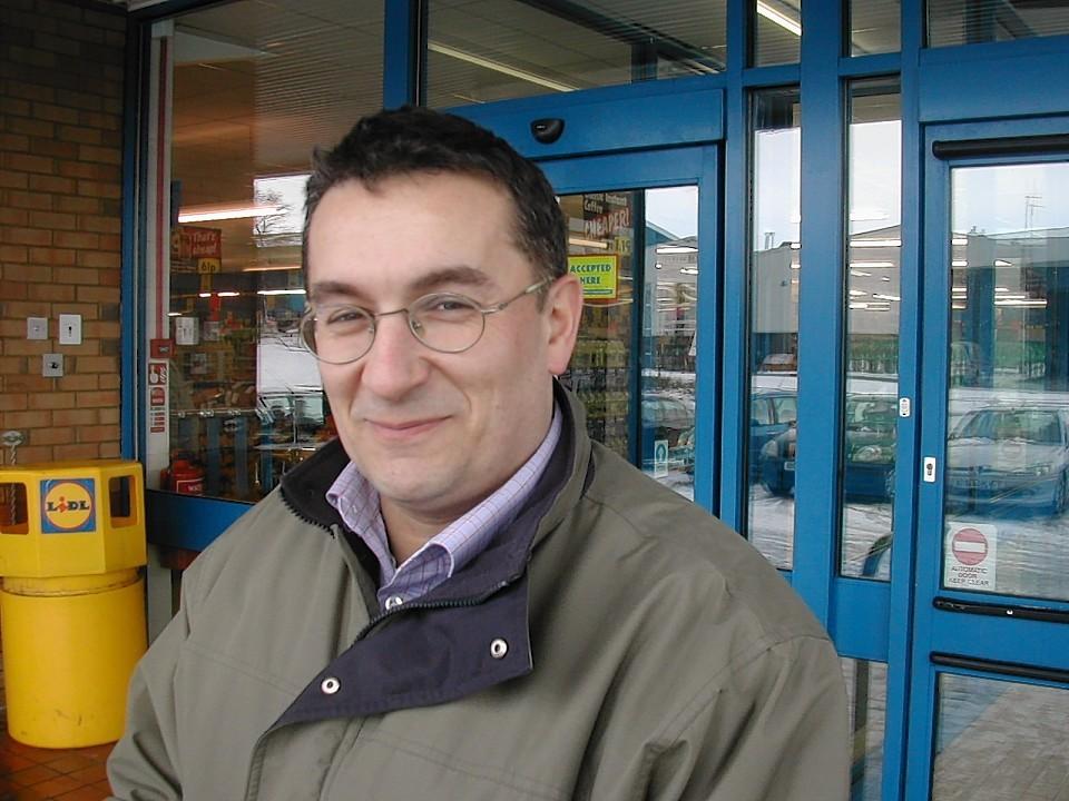 Christian Allard MSP.