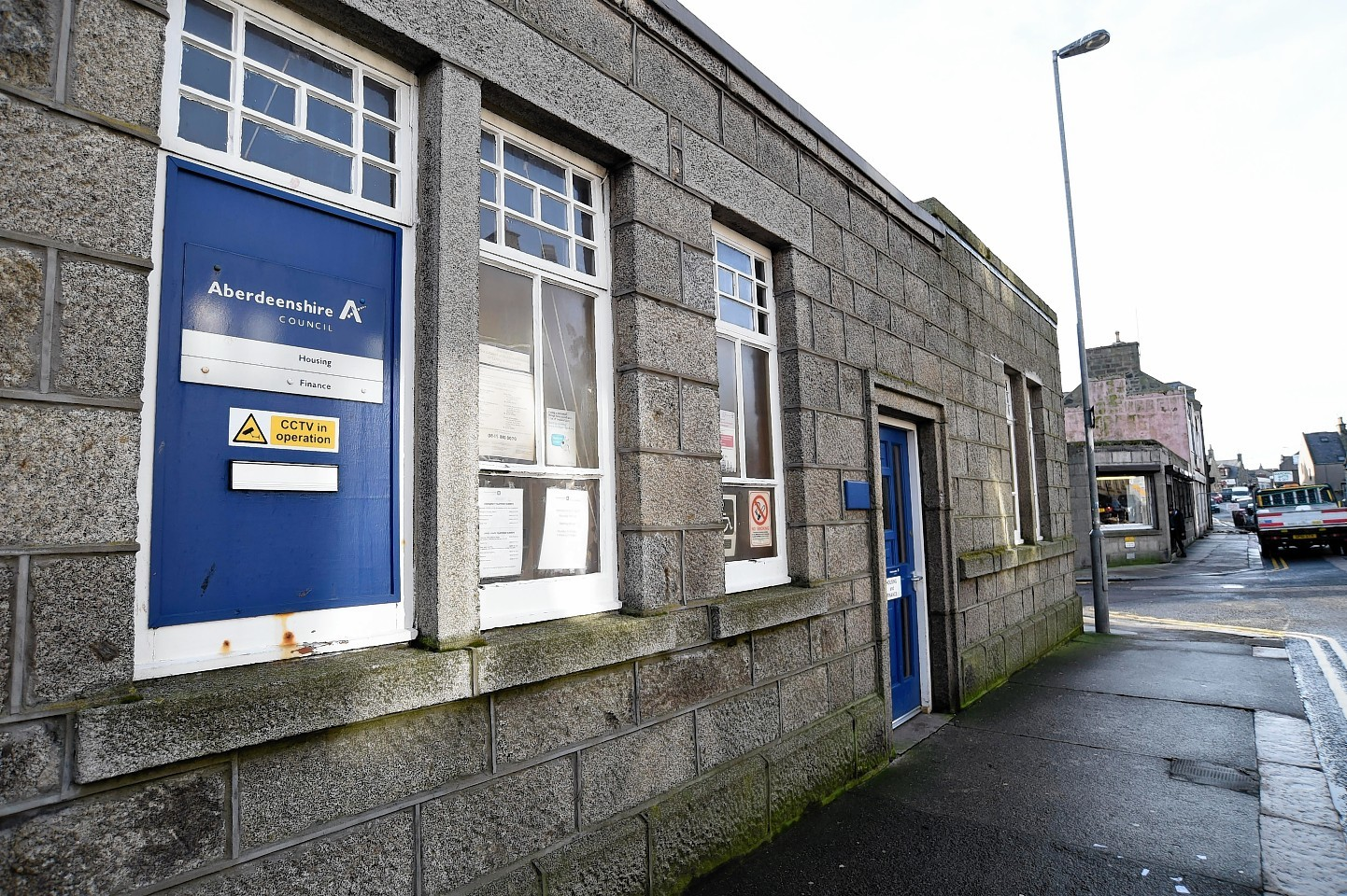 Fraserburgh rent office