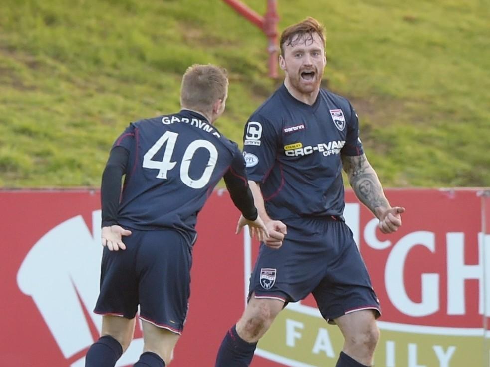 Craig Curran celebrates