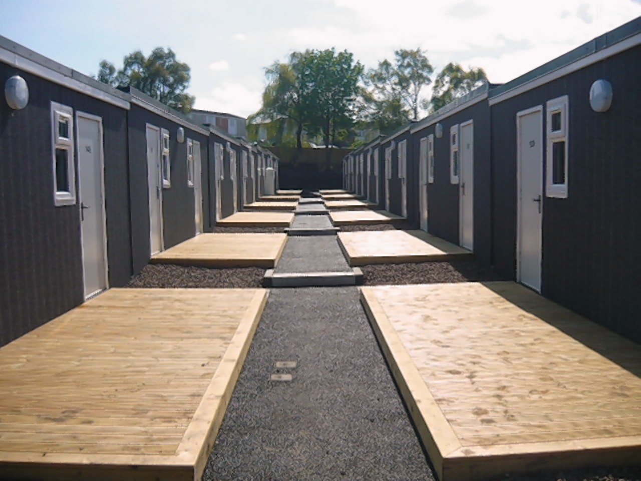 Artist impression of how the Digs2Go accommodation is expected to look