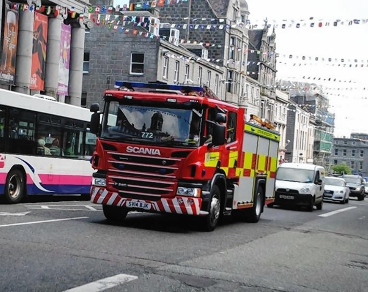 Fire breaks out at Mar Lodge Estate   Press and Journal