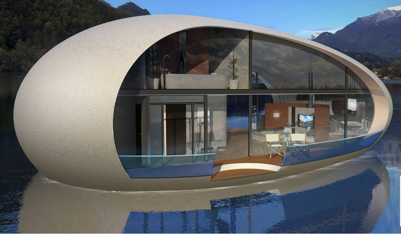 Henry Ward, of Banchory, has designed the  floating lodges.