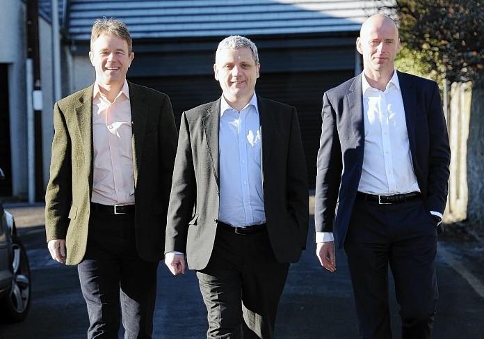 John Forrest PDG Chairman, Jerry Francis PDG CEO, Mark Kerr LDC