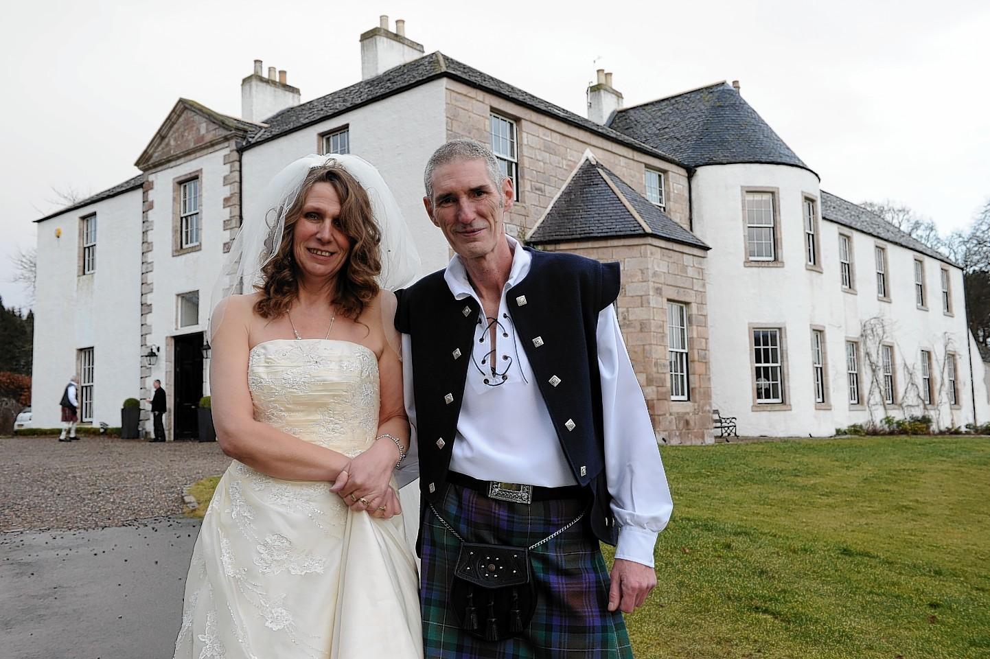Keith Marley and Pauline Martin