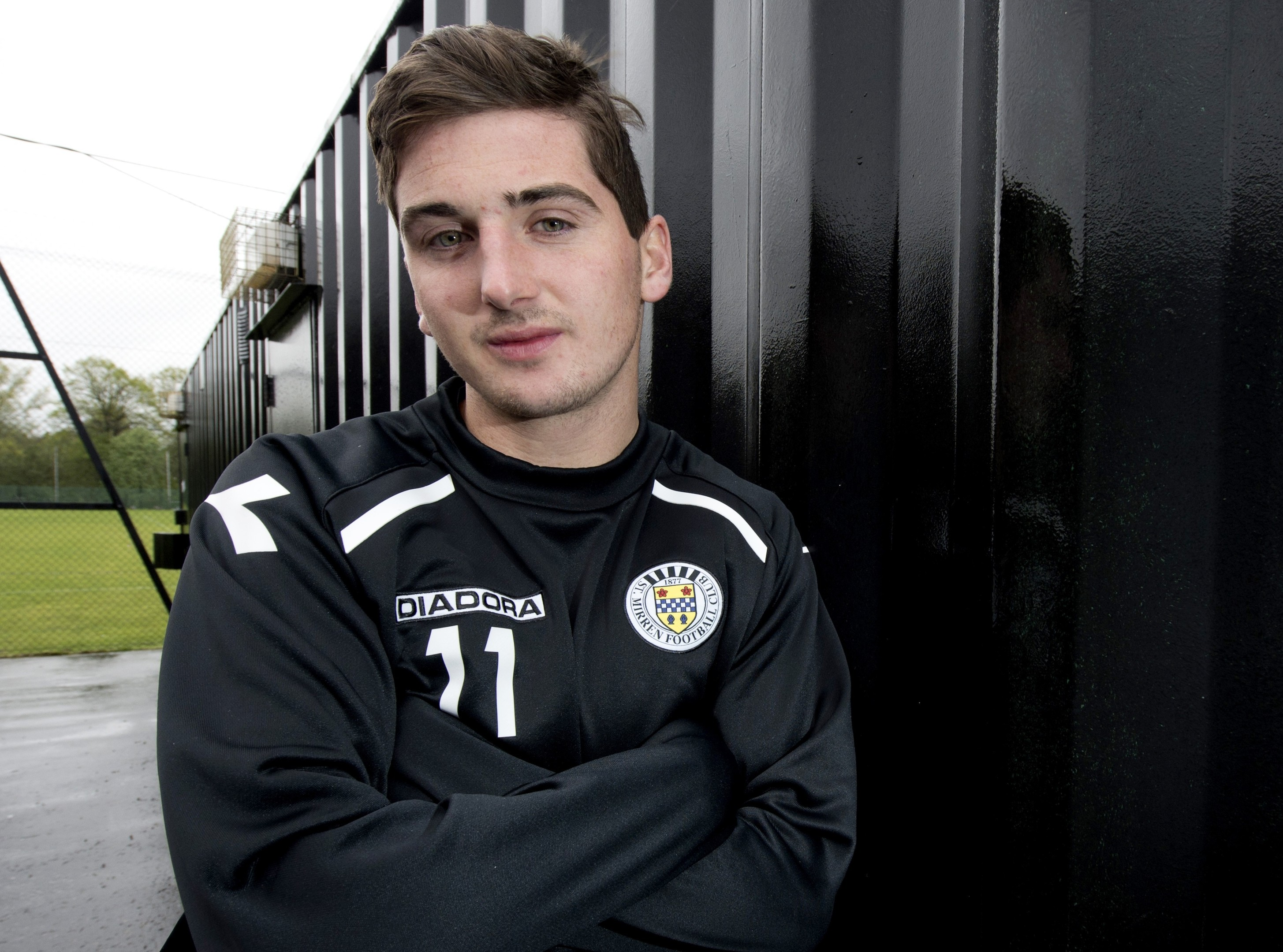 Kenny McLean put pen to paper on a three and a half year deal this afternoon
